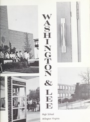 Page 7, 1969 Edition, Washington Lee High School - Blue and Gray Yearbook (Arlington, VA) online yearbook collection