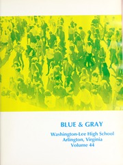 Page 5, 1971 Edition, Washington Lee High School - Blue and Gray Yearbook (Arlington, VA) online yearbook collection