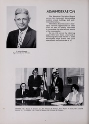 Page 8, 1964 Edition, Kecoughtan High School - Tomahawk Yearbook (Hampton, VA) online yearbook collection