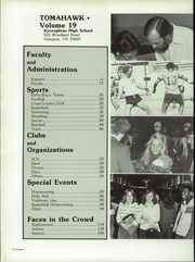 Page 6, 1982 Edition, Kecoughtan High School - Tomahawk Yearbook (Hampton, VA) online yearbook collection