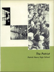 Page 5, 1964 Edition, Patrick Henry High School - Patriot Yearbook (Roanoke, VA) online yearbook collection