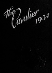 George Washington High School - Cavalier Yearbook (Danville, VA) online yearbook collection, 1954 Edition, Page 1
