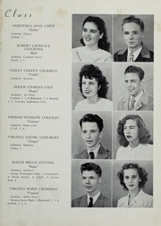 Page 17, 1948 Edition, Falls Church High School - Jaguar Yearbook (Falls Church, VA) online yearbook collection