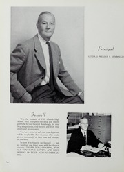 Page 12, 1956 Edition, Falls Church High School - Jaguar Yearbook (Falls Church, VA) online yearbook collection
