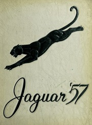 1957 Edition, Falls Church High School - Jaguar Yearbook (Falls Church, VA)