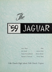 Page 5, 1959 Edition, Falls Church High School - Jaguar Yearbook (Falls Church, VA) online yearbook collection
