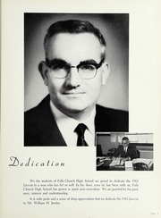 Page 9, 1962 Edition, Falls Church High School - Jaguar Yearbook (Falls Church, VA) online yearbook collection