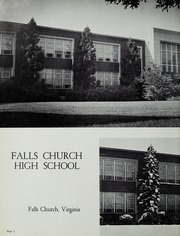 Page 6, 1964 Edition, Falls Church High School - Jaguar Yearbook (Falls Church, VA) online yearbook collection