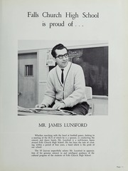 Page 15, 1965 Edition, Falls Church High School - Jaguar Yearbook (Falls Church, VA) online yearbook collection