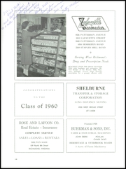 Page 152, 1960 Edition, Douglas Southall Freeman High School - Historian Yearbook (Richmond, VA) online yearbook collection