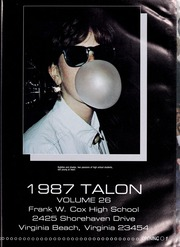 Page 5, 1987 Edition, Frank W Cox High School - Talon Yearbook (Virginia Beach, VA) online yearbook collection