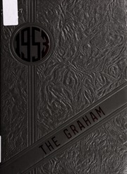 1953 Edition, Graham High School - Graham Yearbook (Bluefield, VA)