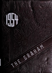 1954 Edition, Graham High School - Graham Yearbook (Bluefield, VA)