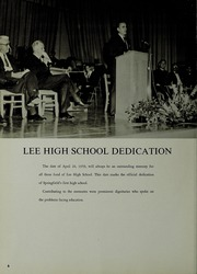 Page 8, 1960 Edition, Lee High School - Shield Yearbook (Springfield, VA) online yearbook collection