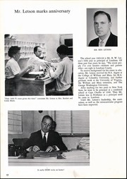 Page 16, 1964 Edition, Loudoun County High School - Lord Loudoun Yearbook (Leesburg, VA) online yearbook collection