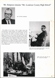 Page 17, 1964 Edition, Loudoun County High School - Lord Loudoun Yearbook (Leesburg, VA) online yearbook collection
