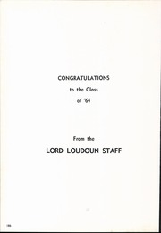 Page 190, 1964 Edition, Loudoun County High School - Lord Loudoun Yearbook (Leesburg, VA) online yearbook collection