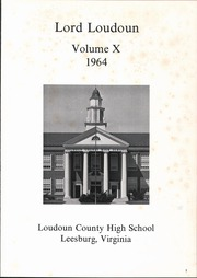 Page 5, 1964 Edition, Loudoun County High School - Lord Loudoun Yearbook (Leesburg, VA) online yearbook collection