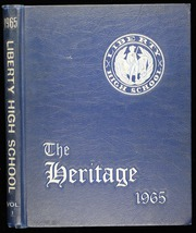 Page 1, 1965 Edition, Liberty High School - Heritage Yearbook (Bedford, VA) online yearbook collection