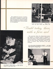 Page 11, 1965 Edition, Liberty High School - Heritage Yearbook (Bedford, VA) online yearbook collection