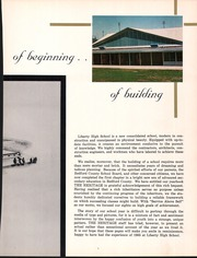 Page 9, 1965 Edition, Liberty High School - Heritage Yearbook (Bedford, VA) online yearbook collection