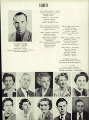 Page 11, 1952 Edition, Troutville High School - Warrior Yearbook (Troutville, VA) online yearbook collection