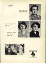 Page 15, 1954 Edition, Troutville High School - Warrior Yearbook (Troutville, VA) online yearbook collection