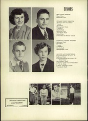 Page 16, 1954 Edition, Troutville High School - Warrior Yearbook (Troutville, VA) online yearbook collection