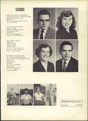 Page 17, 1954 Edition, Troutville High School - Warrior Yearbook (Troutville, VA) online yearbook collection