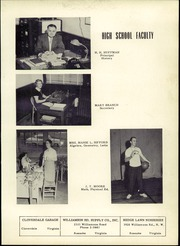 Page 9, 1954 Edition, Troutville High School - Warrior Yearbook (Troutville, VA) online yearbook collection