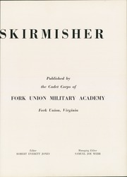 Page 9, 1951 Edition, Fork Union Military Academy - Skirmisher Yearbook (Fork Union, VA) online yearbook collection