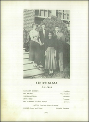 Page 16, 1950 Edition, Manchester High School - Memoir Yearbook (Richmond, VA) online yearbook collection