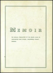 Page 5, 1950 Edition, Manchester High School - Memoir Yearbook (Richmond, VA) online yearbook collection