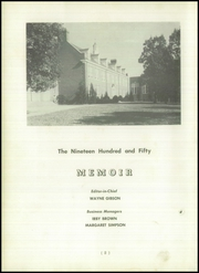 Page 6, 1950 Edition, Manchester High School - Memoir Yearbook (Richmond, VA) online yearbook collection