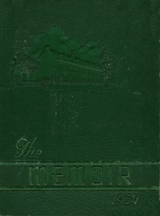 1954 Edition, Manchester High School - Memoir Yearbook (Richmond, VA)