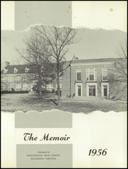 Page 5, 1956 Edition, Manchester High School - Memoir Yearbook (Richmond, VA) online yearbook collection