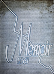 1961 Edition, Manchester High School - Memoir Yearbook (Richmond, VA)