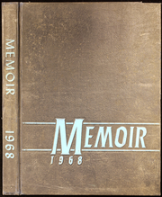 1968 Edition, Manchester High School - Memoir Yearbook (Richmond, VA)