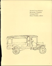 Page 5, 1978 Edition, North Cross School - Compass Yearbook (Roanoke, VA) online yearbook collection