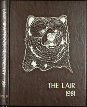 1981 Edition, Lake Braddock Secondary School - Lair Yearbook (Burke, VA)