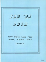 Page 5, 1982 Edition, Lake Braddock Secondary School - Lair Yearbook (Burke, VA) online yearbook collection