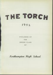 Page 5, 1952 Edition, Northampton High School - Torch Yearbook (Eastville, VA) online yearbook collection