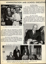 Page 12, 1962 Edition, James Wood High School - Woodbine Yearbook (Winchester, VA) online yearbook collection