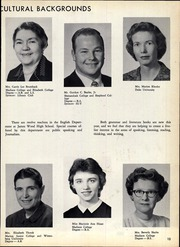 Page 17, 1962 Edition, James Wood High School - Woodbine Yearbook (Winchester, VA) online yearbook collection