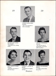 Page 14, 1959 Edition, Appomattox High School - Traveler Yearbook (Appomattox, VA) online yearbook collection