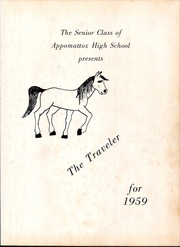 Page 7, 1959 Edition, Appomattox High School - Traveler Yearbook (Appomattox, VA) online yearbook collection