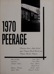 Page 5, 1970 Edition, Princess Anne High School - Peerage Yearbook (Virginia Beach, VA) online yearbook collection