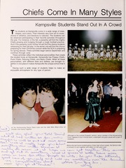 Page 10, 1985 Edition, Kempsville High School - Image Yearbook (Virginia Beach, VA) online yearbook collection