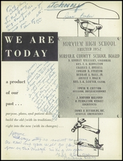 Page 5, 1955 Edition, Norview High School - Pilot Yearbook (Norfolk, VA) online yearbook collection