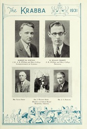 Page 17, 1931 Edition, Hampton High School - Krabba Yearbook (Hampton, VA) online yearbook collection